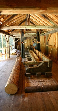Water and wood: Venetian Sawmills